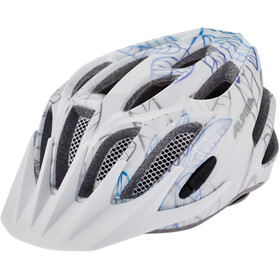 Alpina FB 2.0 Flash Fietshelm Jongeren, white floral